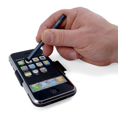 Usando o iPhone com a canetinha