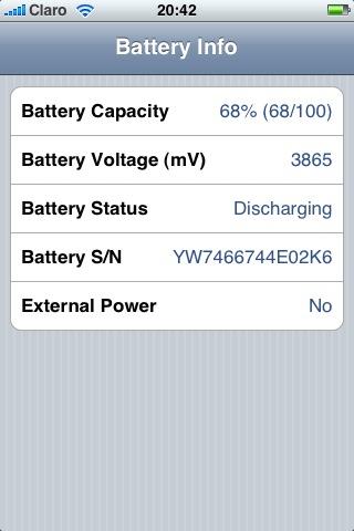 BatteryInfo